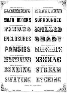 Typographic Tastemakers of the Late Nineteenth Century