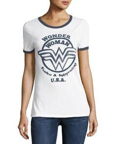 Fearless Wonder Woman Graphic Tee