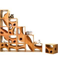 17 дизайнерских домиков для кошек
