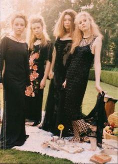 Danielle Harris, Scarlett Johansson, Jessica Biel and Kirsten Dunst in Teen People,June 1998