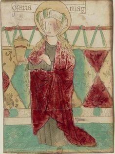 Magdalena Gravat francés s.XV