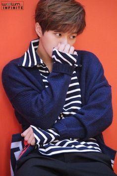 2017 Season Greetings Making ☆ Myungsoo on We Heart It K Pop, Dramas, Kim Myungsoo, Kento Nakajima, L Infinite, Lee Sungyeol, Lee Hyun, Hyun Woo, Wattpad
