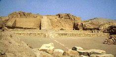 Inca pyramids in Peru, Pachacamac Pyramid
