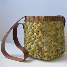 """A Mad Rush""  by Joyce Hicks via basketryplus.org"