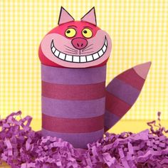 Cheshire Cat Easter Egg  http://spoonful.com/crafts/cheshire-cat-easter-egg