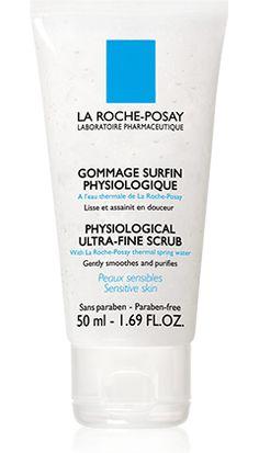 Tout savoir sur Gommage Surfin Physiologique, un produit de la gamme Toilette Physiologique de La Roche-Posay recommandé pour Peaux sensibles, déshydratées. Conseils d'experts gratuits