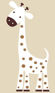 Custom Order for Brandi -  Nursery Wall Decal Giraffe - Baby Wall Decal. $45.00, via Etsy.