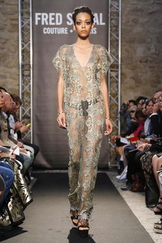 Fred Sathal Couture Fall Winter 2014 Paris