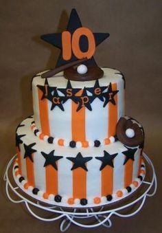 Graduation cake for Jasper, who was #10 on the Gravette baseball team! Congratulations, Jasper!