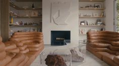 Yves Behar Opens the Doors to His Sleek San Francisco Home in a New Video: Inside the world of the talented designer. San Francisco Houses, Interior And Exterior, Interior Design, Low Tables, Bedroom Inspo, Residential Architecture, Decoration, Interior Inspiration, Interior Ideas