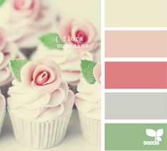 Cupcake Color Palette