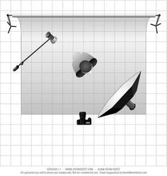 Lighting technique tips and tutorials with setups and diagrams
