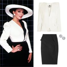 THE ICON: ALEXIS CARRINGTON COLBY  In the '80s, when shoulder-padded women were prolific, Dynasty's serial schemer Alexis Carrington Colby (Joan Collins) was the most commanding of all.