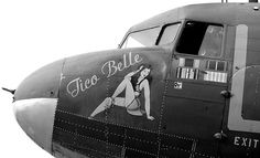 nose art pin-up| Pinup Girl  http://thepinuppodcast.com features pinup models and pin up photographers.