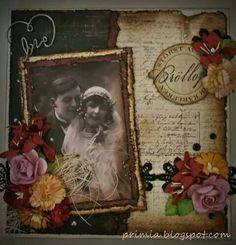 Vintage wedding card  primia.blogspot.com