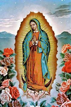 Our Lady of Guadalupe Virgin Mary Blessed Mother by EclecticForest