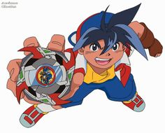 Tyson Granger (Japanese: 木ノ宮タカオ(きのみや タカオ), Kinomiya Takao) is the fundamental hero of the Original Series, comprising of Beyblade, Beyblade: V-Force and Beyblade: G-Revolution. He is the #1 Beyblader in the World, having won three big showdowns consecutively, winning the first with the Bladebreakers, the second unified with Max Tate and the third unified with BBA Revolution.