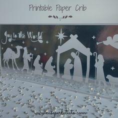 Presepe in carta da stampare * Printable Paper Nativity