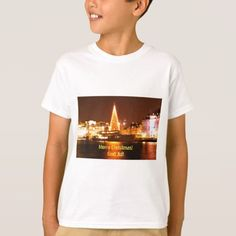 Stockholm Sweden at Christmas at night T-Shirt - light gifts template style unique special diy