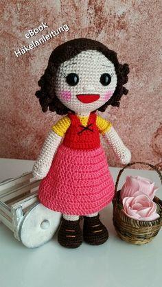 """Puppen - eBook Amigurumi Puppe """"Heidi"""" - ein Designerstück von handmade-by-ulku…"""