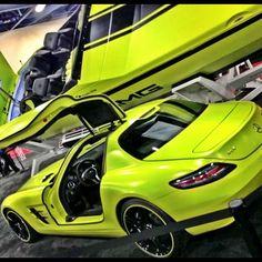 Matching SLS AMG boat and car. Cool!