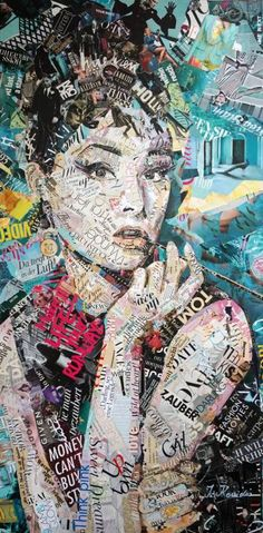 Ideas for collage art magazine mixed media - Art Station 2020 Collage Kunst, Paper Collage Art, Collage Art Mixed Media, Collage Artwork, Painting Collage, Art Collages, Collage Drawing, Wall Collage, Collage Poster