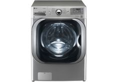 WM8000V - LG Graphite Steel Mega Capacity TurboWash Front Load Steam Washer at Abt