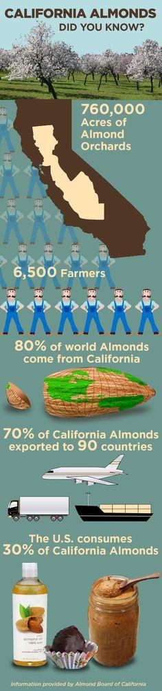 Infographic: What Do California Almonds Do for Sacramento, California and Beyond? - Brandon Darnell | Sacramento Convention & Visitors Burea...