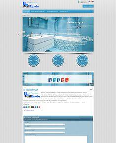 """Примеры работ. Сайт компании """"Акрил Россия""""Страница сайта:Страница сайта:Страница сайта: Поделиться:..."""