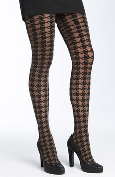 cdfd49b0ac1 houndstooth anywhere.... Cool Tights
