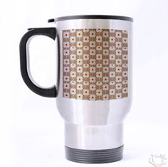 Sell Orla Kiely Inspirate patern flower design art Travel Mug