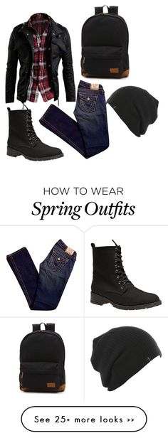"""""""male school outfit"""" by weepingdreamer on Polyvore"""