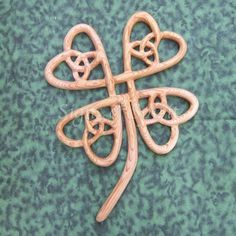 Four Leaf Clover-Celtic Symbol of Abundance-Lucky Clover-Irish Luck