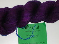 The Verdant Gryphon Mithril Lace Weight Yarn by creativemoments