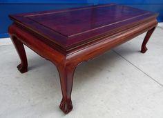Tavolino da salotto in mogano inglese stile eclettico inizio '900