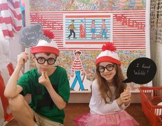 The American Booksellers Association partnered with Candlewick Press for its fourth annual Find Waldo Local campaign. To celebrate the bespectacled wanderer, the Book Nook in Brenham, Tex., set up a photo booth for the month of July, with hats, glasses, and word bubbles for customers to use.