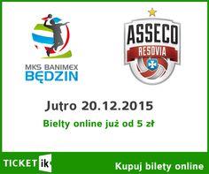 Jeszcze zdążycie na jutrzejszy mecz: MKS BĘDZIN! Bilety online - bez kolejek, bez pośpiechu. http://ticketik.pl/#!/Organizator/27