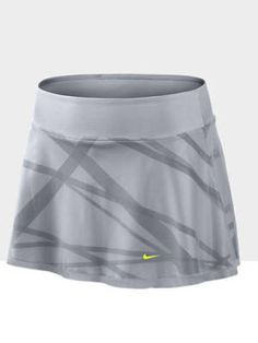 Women's Nike tennis skirt. Would look super cute with a yellow excercize shirt!