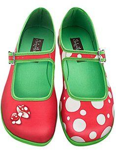 b8157b0c74b3 Hot Chocolate Design Chocolaticas Moosh Women s Mary Jane Flat  Multicoloured US Size  7 ❤ . Shoes ...