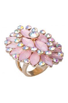Stone Feminie Ring in #Pink from @Colette van den Thillart van den Thillart by colette hayman (AUD $12.95).