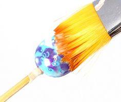 Glazing Beads Tutorial | Polymer Clay | CraftGossip.com