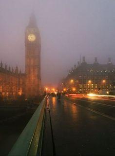 London fog...