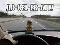 Daleks…