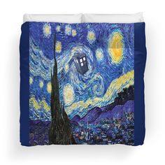 Starry Night Inspiration Doctor Who Tardis Products