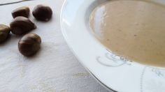 Zupa krem z kasztanów jadalnych