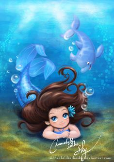 Little Aquata by moonchildinthesky.deviantart.com on @deviantART