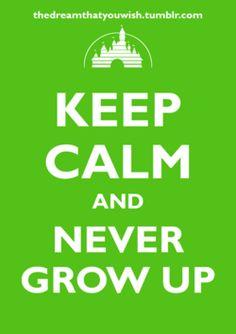 Keep Calm, Disney style