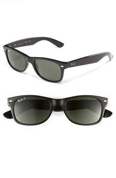 Ray-Ban 'New Small Wayfarer' 52mm Polarized Sunglasses