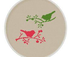 Bird Cross stitch pattern cross stitch bird cross stitch