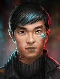 Image result for shadowrun portrait